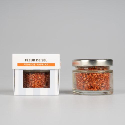 Fleur de Sel mit Feuriger Paprika 30 g.