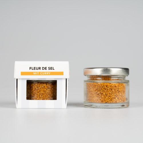 Fleur de Sel mit Curry 30 g.