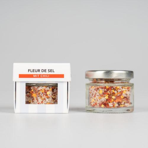 Fleur de Sel mit Chili 30 g.