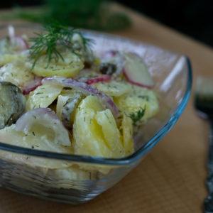 Kartoffelsalat (vegan)