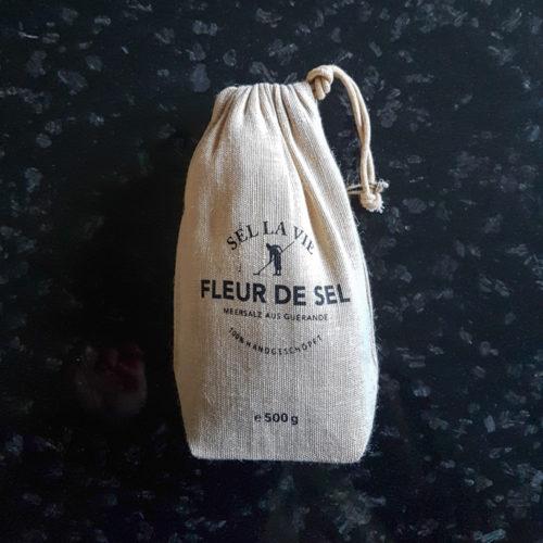 Fleur de Sel 500 g. im Jutebeutel