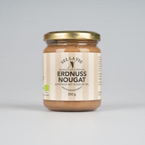 BIO-Erdnuss Nougat Creme 250 g.