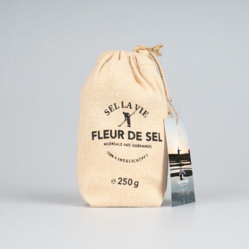Fleur de Sel 250 g. im Jutebeutel