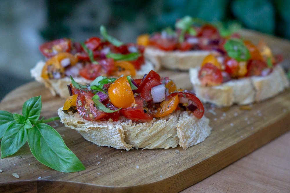 Bruschetta (vegan)