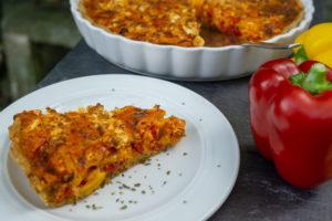 Paprika Quiche (vegetarisch)